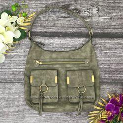 Удобная сумка с закрытыми карманами
