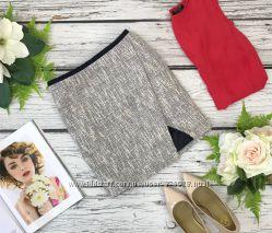 Укороченная юбка на запах для кокетки  KI1835084
