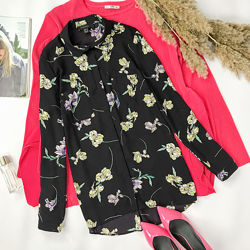 Женственная блуза в цветочный принт  BL1951062, BL1951057