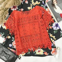 Кружевная блуза квадро  BL1951061, BL1951060