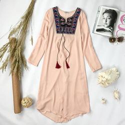 Оригинальная блуза-туника с вышивкой  BL 1951156