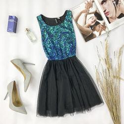 Нарядное платье с красивым лифом и пышной юбкой DR 1951162