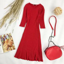 Кокетливое платье красного цвета  DR 1952048, DR 1952055