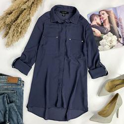 Свободная удлиненная блуза с накладными карманами BL 1954094, BL1952092