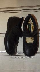Туфли девочке кожа