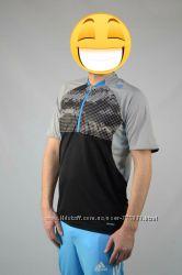 Новая футболка adidas climalite cool xl для спорта велофутболка 52-54 ориги
