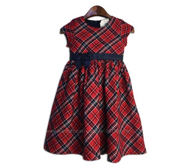 Платье в клетку на подъюбнике р. 116 topolino