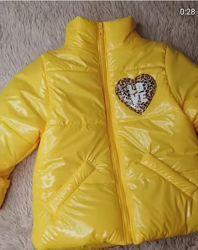 Новинка 2021 Демисезонная стильная куртка на рост 80-140см