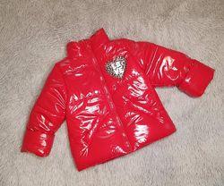 Новинка 2021 Стильная демисезонная куртка на рост 80-140см