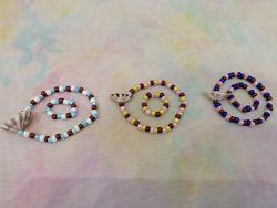Морские браслеты и колечки