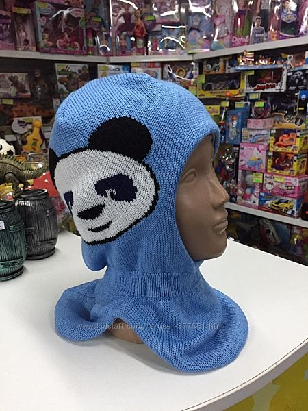 Шапка-шлем Бабасик зимняя