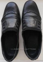 Туфли школьные кожанные 34 р, 22. 5 см
