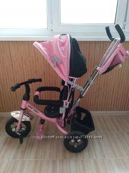 Трехколесный велосипед-коляска Azimut Trike, отл. состояние