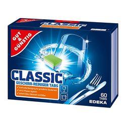 Таблетки для посудомоечной машины G&G POWER EDEKA 60шт