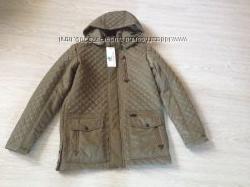 Деми куртка на мальчика-подростка