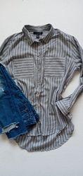 Стильная и качественная женская рубашка 100 хлопок размер 42