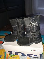 Кожаные сапоги М-kids 26 р - 17 см