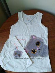 Комплекты для девочек майкатрусики топ-трусы Турция