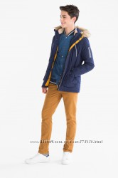 Новая пуховая  зимняя  куртка  164р. C&A  , Германия