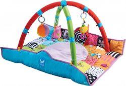 Развивающий музыкальный коврик с дугами Taf Toys В кругу друзей 90 х 90 см