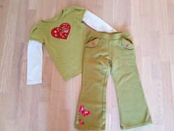 костюм gymboree реглан брюки комплект
