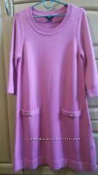 Женское вязаное платье H&M 38