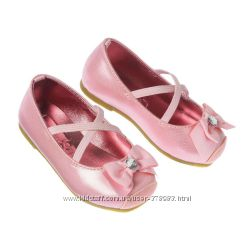 Нарядные туфельки для девочки от Crazy8 США 15см стелька