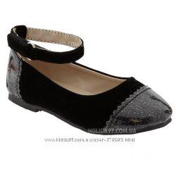Нарядные туфельки для девочки от OLD NAVY США 16 см стелька