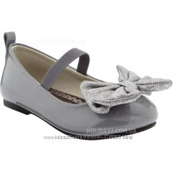 Нарядные туфельки для девочки от Crazy8 США размер 23, 24, 25