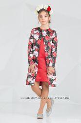 Комплекты платье и плащ рост 134-164см в наличии