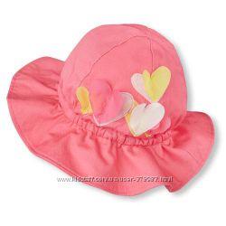 Панамка хлопковая для девочки Children&acutes Place США возраст 2-4 года