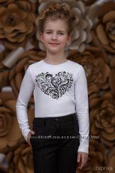 Школьные блузы ТМ Зиронька 3674-1-1 для девочек рост 122-152 см в наличии
