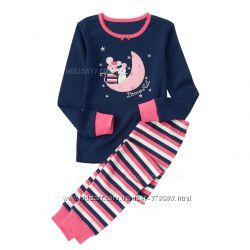 Пижама хлопковая для девочки Gymboree США возраст 3 года