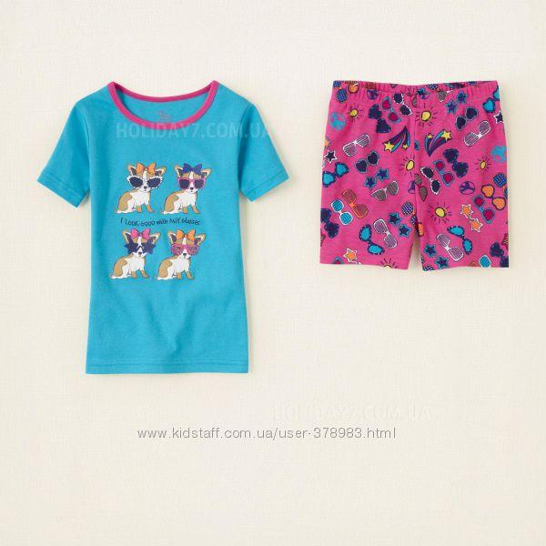Пижама хлопковая для девочки Children&acutes Place США возраст 2 года
