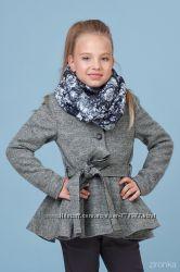 Пальто шерстяное для девочки рост 122-152см в наличии