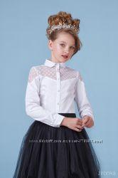 Школьные блузы ТМ Зиронька 8065, 8066 рост 122-152см в наличии