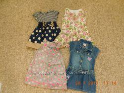 Фирменные платья 2-4 года