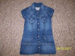 Платье джинсовое НМ 3-4 года