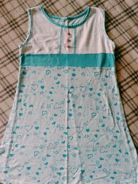Ночная сорочка рубашка на девочку 5-8 лет