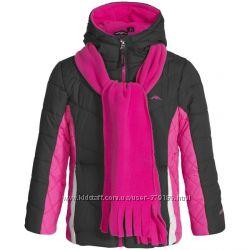 Красивая теплая курточка на 5-6 лет