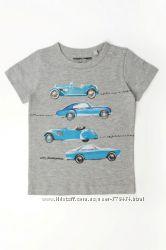 новые модные футболки NEXT  4-5 большемерит