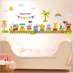 Интерьерные наклейки на стену для детской комнаты
