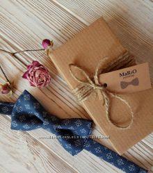 Бабочка галстук ручной работы