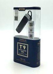 Bluetooth гарнитура REMAX RB-T9 черная белая
