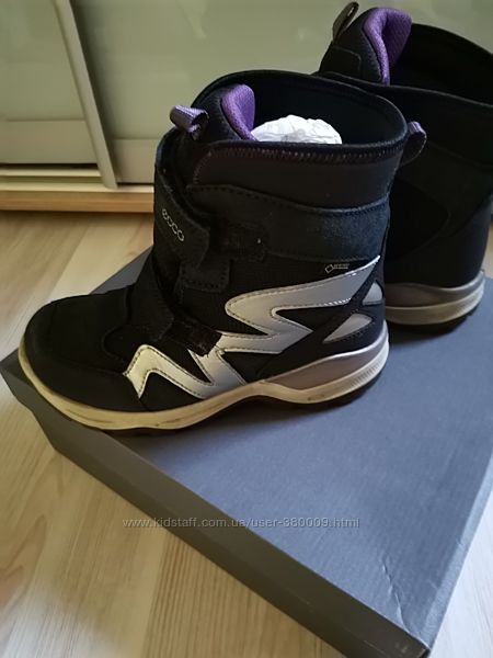 Зимние ботиночки ECCO 33 размер