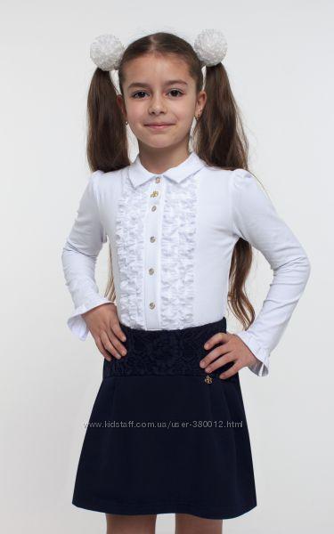 TM SMIL Школьная юбка с гипюром.