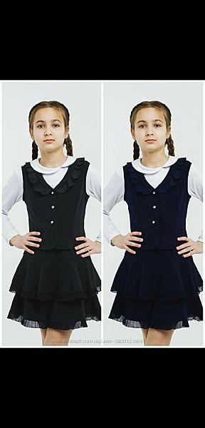Школьная юбка с рюшами SMIL коллекция 2019