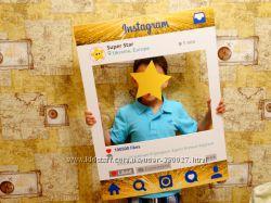 Рамка Инстаграм-Instagram. Прокат. Аренда. Рамка для фотосессий на годик
