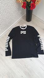 Мужская футболка с длинным рукавом Пума оригинал