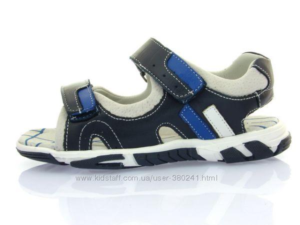 Детские Босоножки Clibee Z-625 Синий Серый с 31 по 36